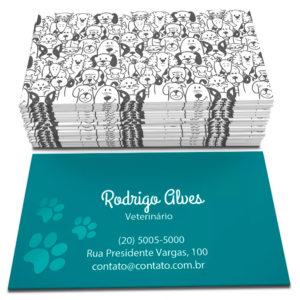 1000 Cartões – 48x88mm Couchê 250g – Verniz Frente – 4×1 Cores