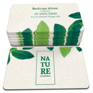 1000 Cartões – 48x88mm Reciclato 240g – 4×4 Cores – Cantos Arredondados