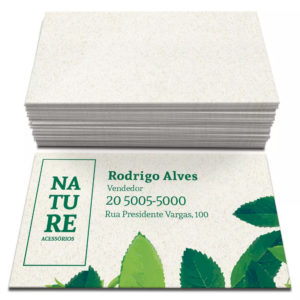 250 Cartões – 48x88mm Reciclato 240g – 4×0 Cores – Corte Reto