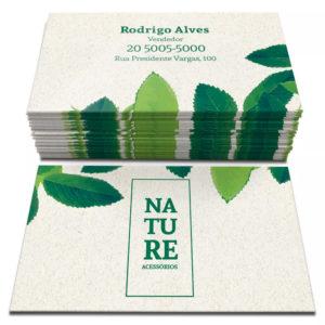 Cartões – 48x88mm Reciclato 240g – 4×4 Cores – Corte Reto